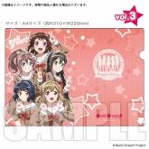BanG Dream!(バンドリ) クリアファイルシリーズvol.3
