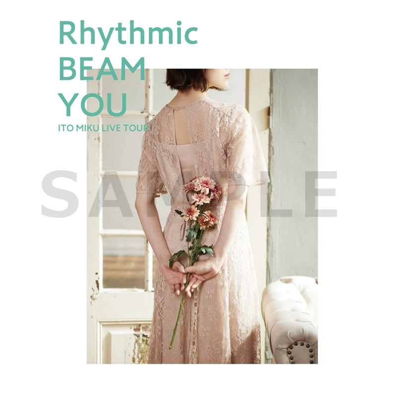 【グッズ-Tシャツ】伊藤美来 Live Tour 2021 Rhythmic BEAM YOU TシャツB(フォト)_L サブ画像2