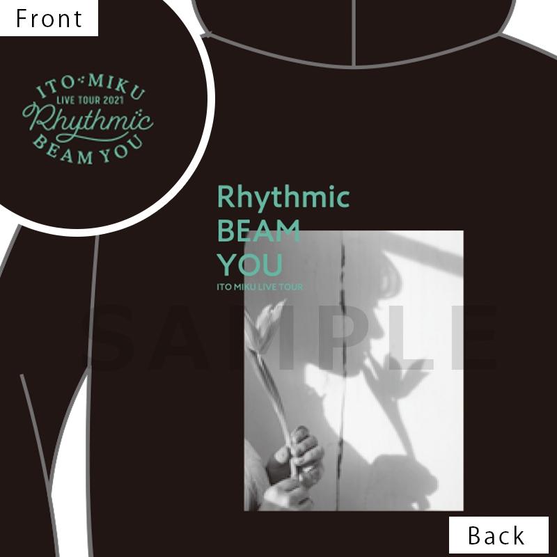 【グッズ-ウィンドブレーカー】伊藤美来 Live Tour 2021 Rhythmic BEAM YOU ジップパーカー_XL サブ画像2