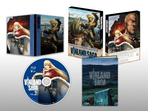 【Blu-ray】TV ヴィンランド・サガ Blu‐ray Box Vol.2