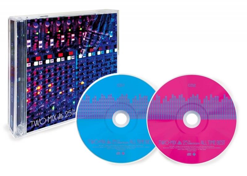 【アルバム】TWO-MIX 25th Anniversary ALL TIME BEST【通常盤】 サブ画像2