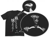 ブレイブウィッチーズ 戦いたければ強くなれTシャツ/BLACK-L