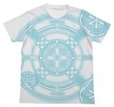 ブレイブウィッチーズ ウィッチの魔法陣Tシャツ西洋Ver./WHITE-L