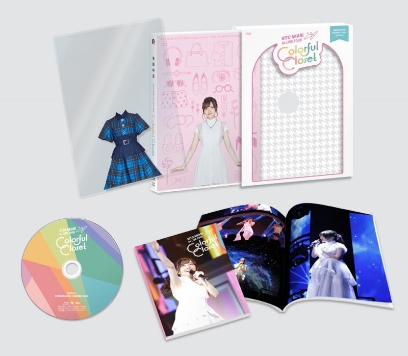 【Blu-ray】 鬼頭明里 1st LIVE TOUR「Colorful Closet」 サブ画像2