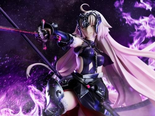 【フィギュア】Fate/Grand Order アヴェンジャー ジャンヌ・ダルク[オルタ]昏き焔を纏いし竜の魔女 1/7スケール PVC製 塗装済み完成品【特価】 サブ画像9