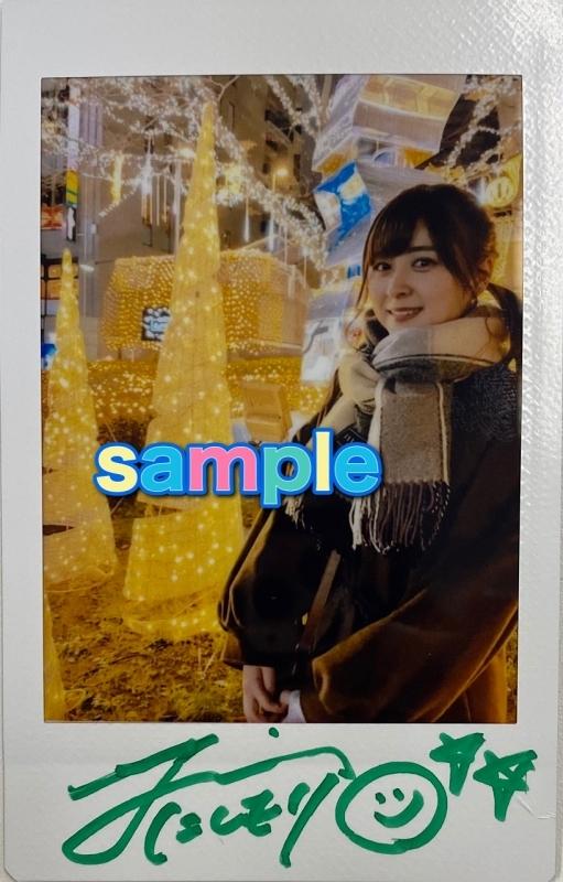 【グッズ-チェキ】※1/26実施イベント・JINさんサイン入り※ アイオケ チェキ