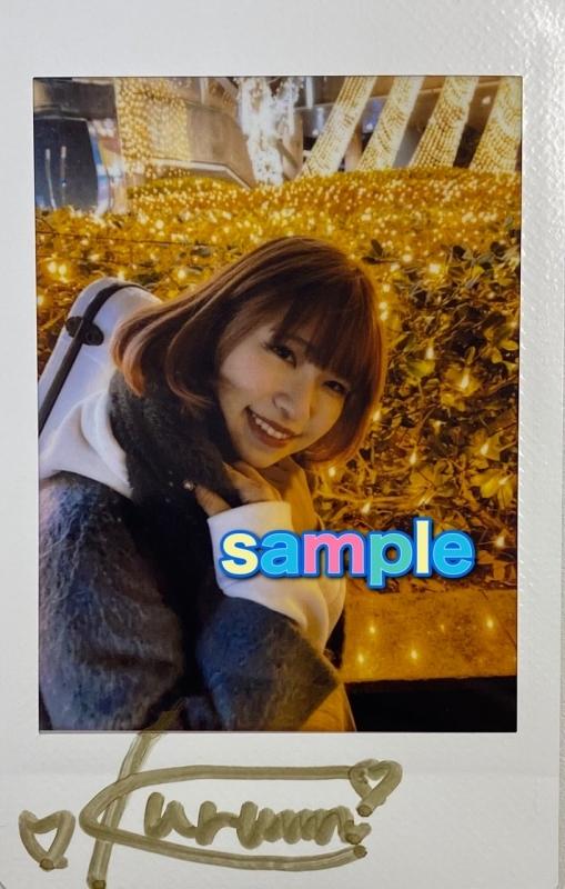 【グッズ-チェキ】※1/26実施イベント・kurumiさんサイン入り※ アイオケ チェキ