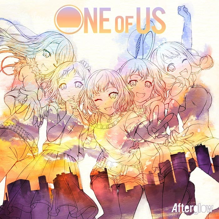 【アルバム】BanG Dream!「ONE OF US」/Afterglow【Blu-ray付生産限定盤】 サブ画像2