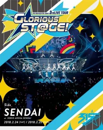 【Blu-ray】THE IDOLM@STER SideM 3rdLIVE TOUR ~GLORIOUS ST@GE!~ LIVE Blu-ray [Side SENDAI]