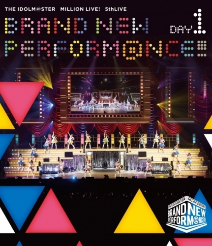 【Blu-ray】THE IDOLM@STER MILLION LIVE! 5thLIVE BRAND NEW PERFORM@NCE!!! LIVE Blu-ray DAY1