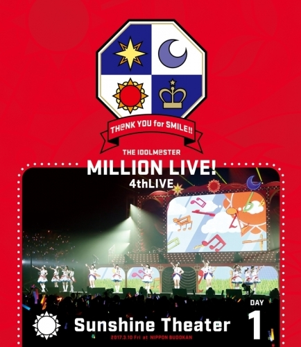 【Blu-ray】THE IDOLM@STER MILLION LIVE! 4thLIVE TH@NK YOU for SMILE! LIVE DAY1