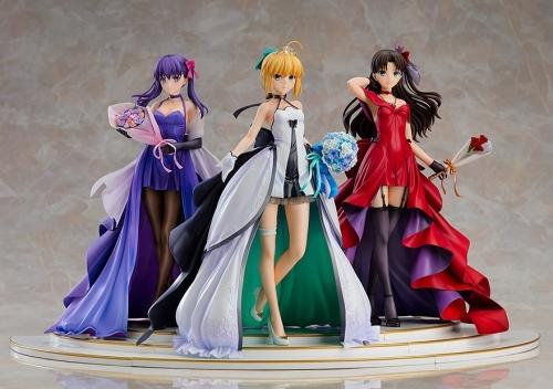【フィギュア】Fate/stay night ~15th Celebration Project~ セイバー 遠坂凛 間桐桜 ~15th Celebration Dress Ver.~ Premium Box 1/7スケール ABS&PVC 製塗装済み完成品【特価】 サブ画像2