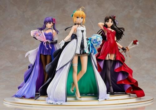 【フィギュア】Fate/stay night ~15th Celebration Project~ セイバー 遠坂凛 間桐桜 ~15th Celebration Dress Ver.~ Premium Box 1/7スケール ABS&PVC 製塗装済み完成品【特価】 サブ画像5