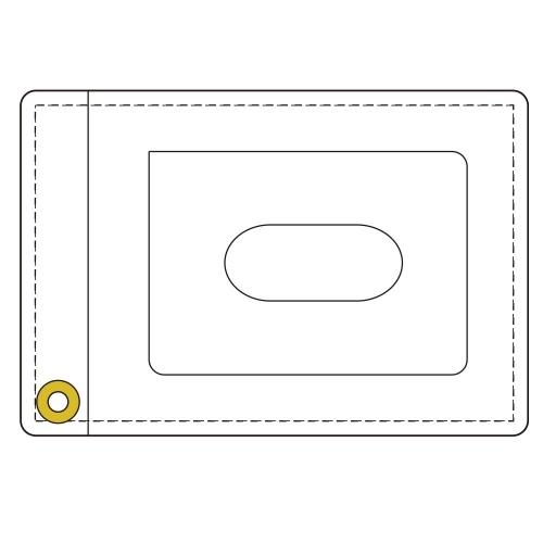 【グッズ-パスケース】推しが武道館いってくれたら死ぬ 合皮パスケース サブ画像2