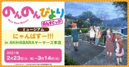 「のんのんびより のんすとっぷ」ミュージアム にゃんぱすー!!! in AKIHABARAゲーマーズ本店画像