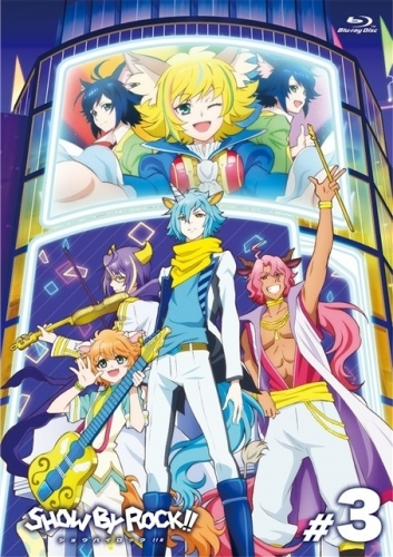 【Blu-ray】TV SHOW BY ROCK!!# 3
