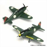 荒野のコトブキ飛行隊 雷電 ラハマ所属機 仕様 1/144スケール プラスチックモデルキット