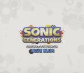 SONIC GENERATIONS Original Soundtrack:Blue Blur