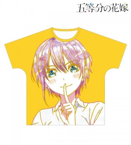 【グッズ-Tシャツ】五等分の花嫁 一花 Ani-Art フルグラフィックTシャツユニセックス(サイズ/L)