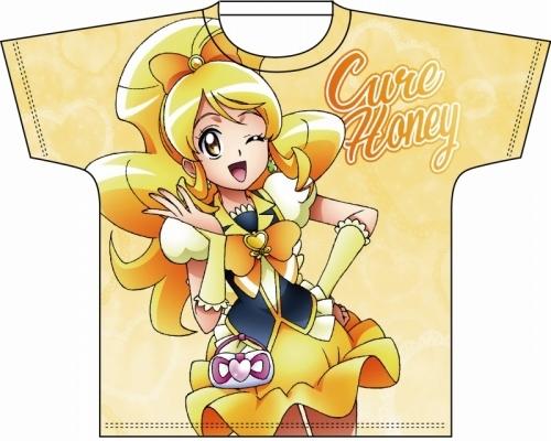 【グッズ-Tシャツ】全プリキュア・フルカラープリントTシャツ ハピネスチャージプリキュア!キュアハニー M