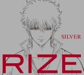 TV 銀魂. ED「SILVER」/RIZE 期間生産限定盤