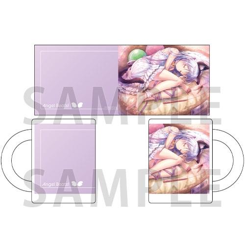 【グッズ-マグカップ】Angel Beats! マグカップ ベッドの上で丸くなる猫耳尻尾の天使ちゃんマジ天使! ver.【ゲーマーズ先行】