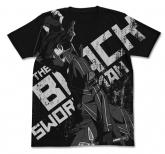 ソードアート・オンライン -オーディナル・スケール- 黒の剣士キリトTシャツ/BLACK-XL
