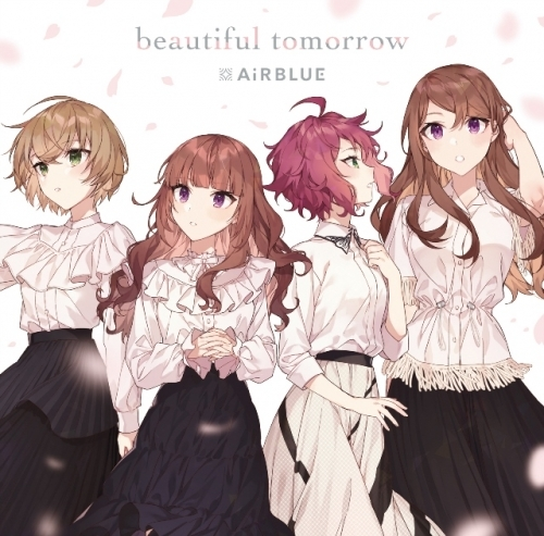 【マキシシングル】CUE! 02 Single「beautiful tomorrow」/AiRBLUE 【通常盤】