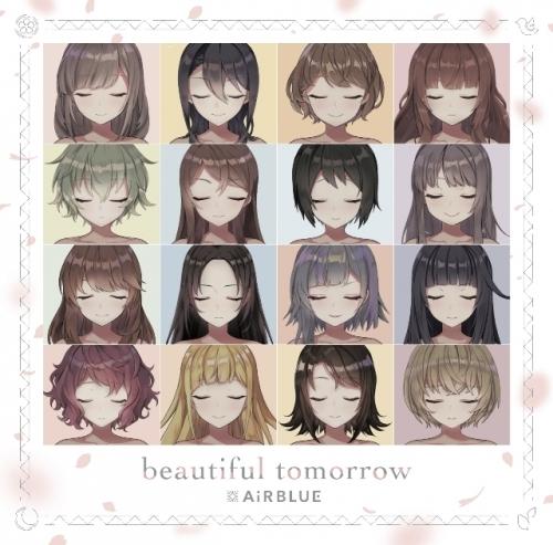 【マキシシングル】CUE! 02 Single「beautiful tomorrow」/AiRBLUE 【初回限定盤】CD+DVD