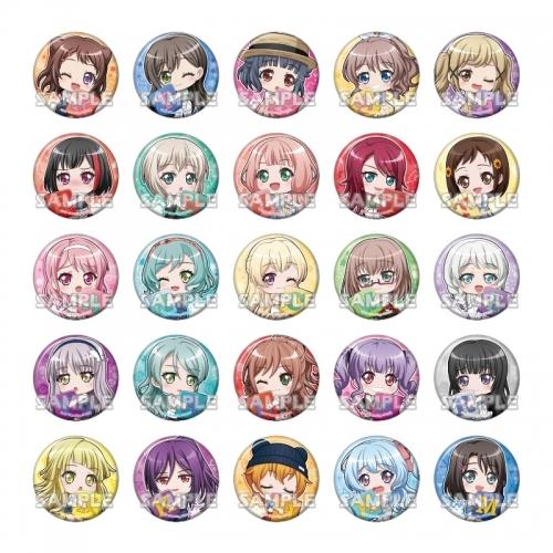 【グッズ-バッチ】BanG Dream! ガールズバンドパーティ! むぎゅっと缶バッジコレクション vol.3