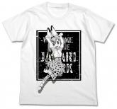 けものフレンズ サーバルジャンプ Tシャツ/WHITE-M
