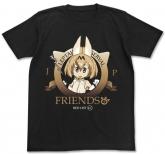 けものフレンズ けものフレンズ Tシャツ/BLACK-XL