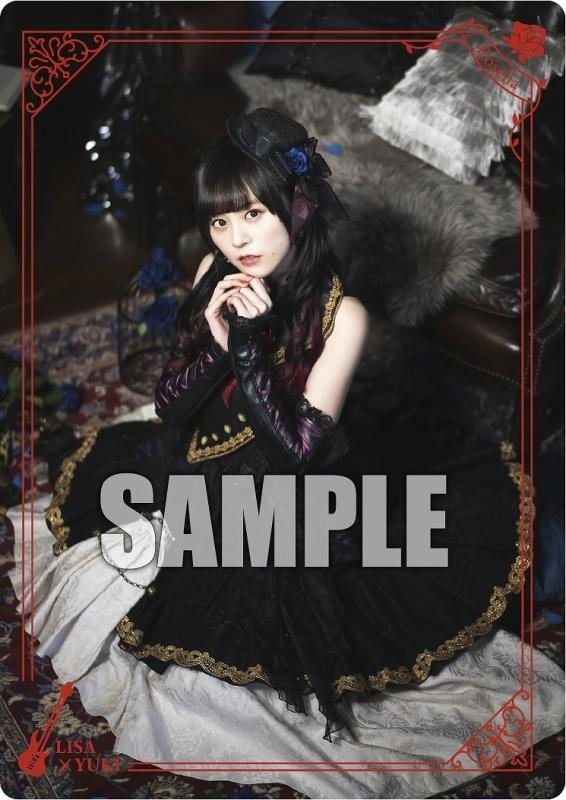 PRカード[LISA × YUKI]