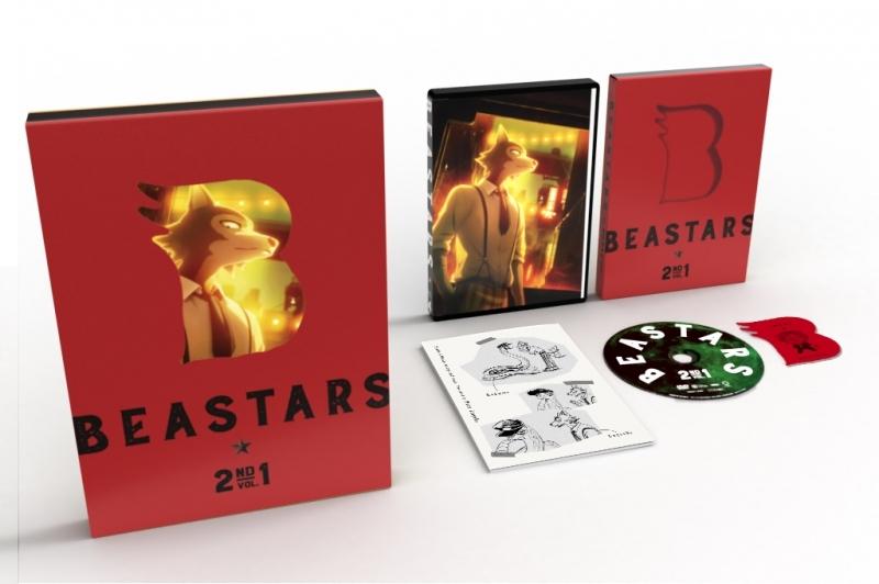 【DVD】TV BEASTARS 2nd Vol.1 【初回生産限定版】 サブ画像2