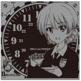 ガールズ&パンツァー(劇場版) ダージリン卓上時計