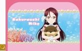 ラブライブ!サンシャイン!! ケース付きミニアートケット「桜内 梨子」ぬいぐるみ抱っこVer.