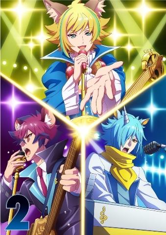 【Blu-ray】TV SHOW BY ROCK!!STARS!! Blu-ray 第2巻