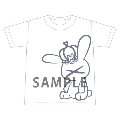 【グッズ-Tシャツ】名取さな さなのばくたん。-バースデイ・サナトリウム- ゆったりうさちゃんせんせえT (L)