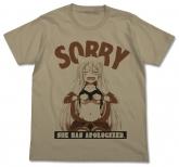 うらら迷路帖  千矢ごめんなさいTシャツ/SAND KHAKI-S