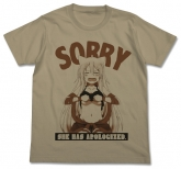 うらら迷路帖  千矢ごめんなさいTシャツ/SAND KHAKI-L