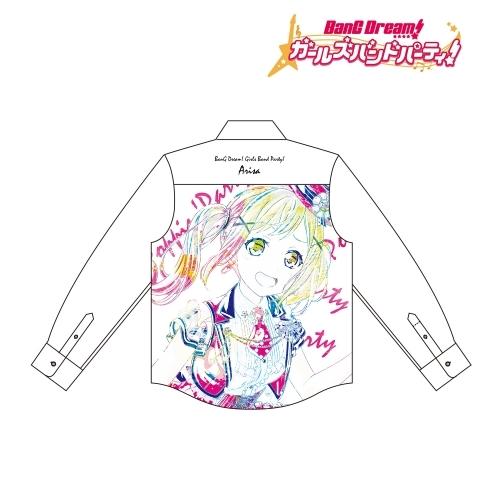 【グッズ-Tシャツ】BanG Dream! ガールズバンドパーティ! 市ヶ谷 有咲 Ani-Art フルグラフィックカジュアルシャツユニセックス(サイズ/M)