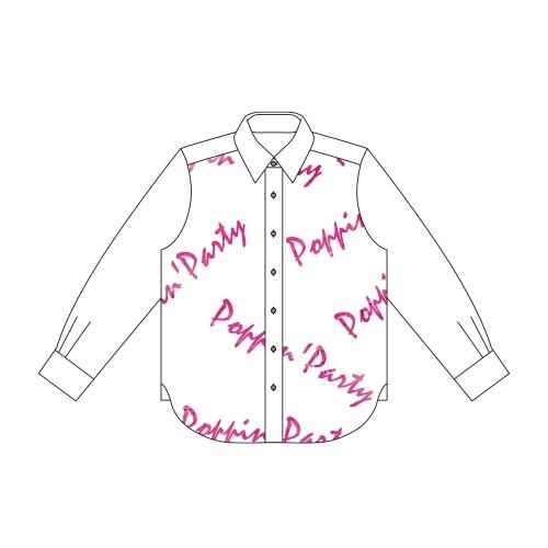 【グッズ-Tシャツ】BanG Dream! ガールズバンドパーティ! 市ヶ谷 有咲 Ani-Art フルグラフィックカジュアルシャツユニセックス(サイズ/M) サブ画像2