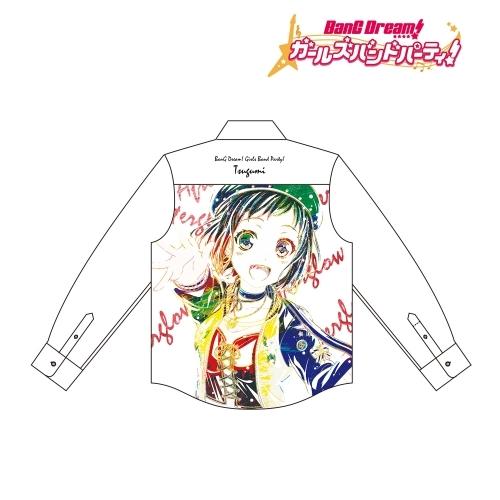 【グッズ-Tシャツ】BanG Dream! ガールズバンドパーティ! 羽沢 つぐみ Ani-Art フルグラフィックカジュアルシャツユニセックス(サイズ/XL)