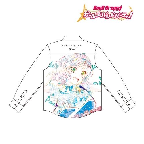 【グッズ-Tシャツ】BanG Dream! ガールズバンドパーティ! 氷川 日菜 Ani-Art フルグラフィックカジュアルシャツユニセックス(サイズ/S)