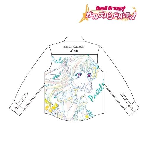 【グッズ-Tシャツ】BanG Dream! ガールズバンドパーティ! 白鷺 千聖 Ani-Art フルグラフィックカジュアルシャツユニセックス(サイズ/L)