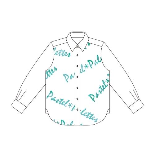 【グッズ-Tシャツ】BanG Dream! ガールズバンドパーティ! 白鷺 千聖 Ani-Art フルグラフィックカジュアルシャツユニセックス(サイズ/L) サブ画像2
