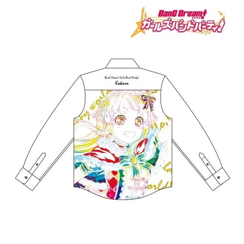 【グッズ-Tシャツ】BanG Dream! ガールズバンドパーティ! 弦巻 こころ Ani-Art フルグラフィックカジュアルシャツユニセックス(サイズ/M)