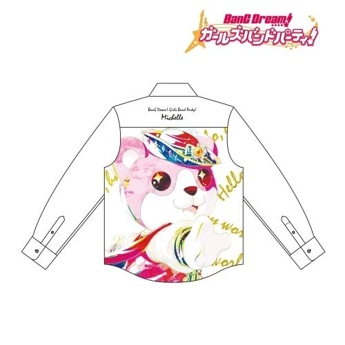 【グッズ-Tシャツ】BanG Dream! ガールズバンドパーティ! ミッシェル Ani-Art フルグラフィックカジュアルシャツユニセックス(サイズ/M)