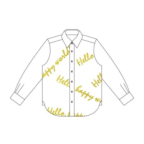【グッズ-Tシャツ】BanG Dream! ガールズバンドパーティ! ミッシェル Ani-Art フルグラフィックカジュアルシャツユニセックス(サイズ/M) サブ画像2