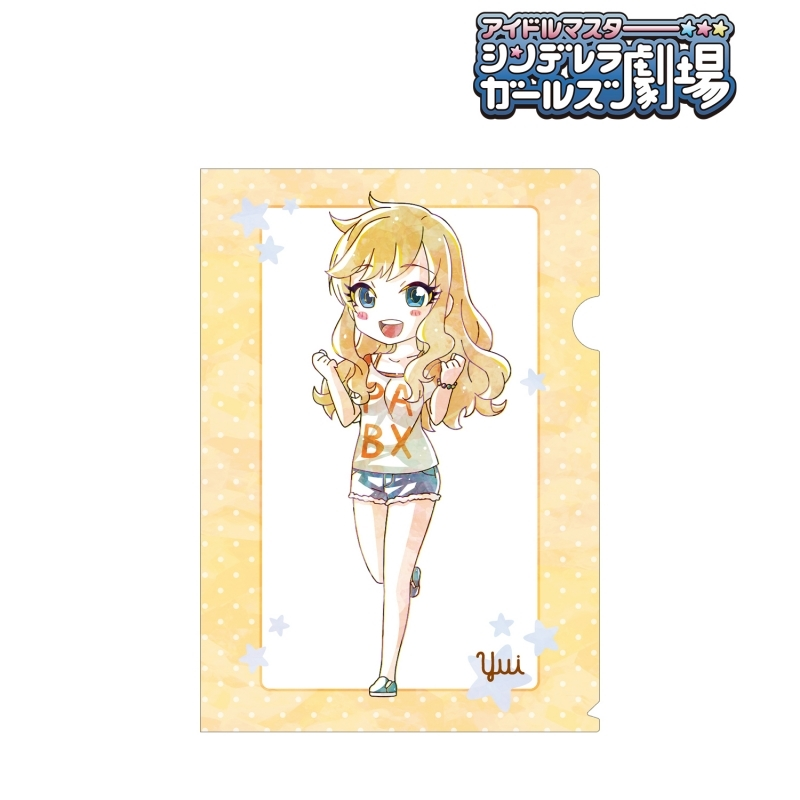 【グッズ-クリアファイル】アイドルマスター シンデレラガールズ劇場 大槻 唯 Ani-Art クリアファイル